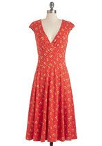 Prancing through the Poppies Dress | Mod Retro Vintage Dresses | ModCloth.com