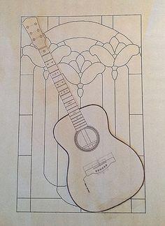 Guitar pattern by Carol Boyette