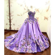 welcoming spring 2016, new collections are available now, the fairytale violet ballgown ~ Provocate by Meltatan