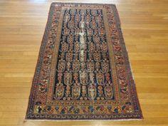 PERSIAN RUG Hamadan Oriental Rug 3' 7 x 5' by LesniakOrientalRugs, $490.00