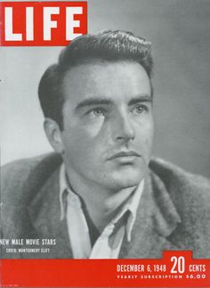 LIFE Cover 12-6-1948: Actor Montgomery Clift.