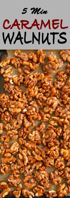 #walnuts #caramelwalnuts #candiedwalnuts | caramel walnuts | candied walnuts | candied nuts | caramelized walnuts