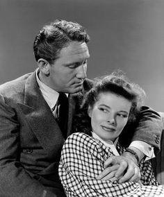 Spencer Tracy & Katherine Hepburn