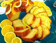 Bolo de laranja diet