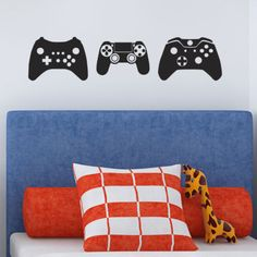 Gamer-Wall-Decals-Pack-of-3-Games-Console-Controller-Stickers