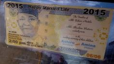 Hilarious!! Nigerian Wedding Invitation Cards That Got The Whole Social Media Buzzing   Nigerians are becoming creative everyday with their wedding ideas. First it was pre-wedding photos now we are here  N500 naira note got turned into a wedding card invite. lol I don laugh die!What do you guy think about this?  entertainment news