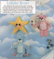 sept 1996 issue plastic canvas lullaby bears - Google Search