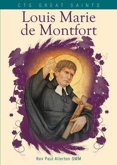 """""""[He] sought to give concrete expression to devotion to both Christ and his mother, Mary, through the establishment of the regular recitation of the #Rosary."""" - from Louis Marie de Montfort, CTS"""
