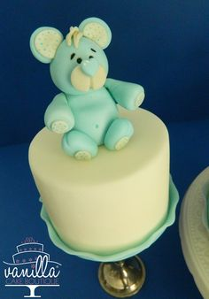 teddy bear minicake
