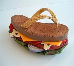"Sandwich Sandals – A Whole New Meaning For ""Footlong"""