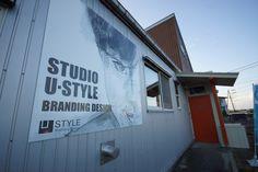 STUDIO U・STYLEの看板