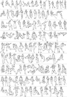 Gesture studies by Guts-N-Effort.deviantart.com
