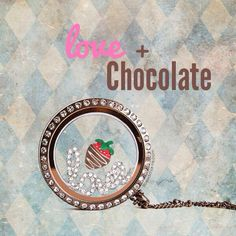 Want to win the SOLD OUT Chocolate Covered Strawberry?  Check out my facebook page for your chance to WIN it!   Origami Owl - Sherry Holley, Independent Designer