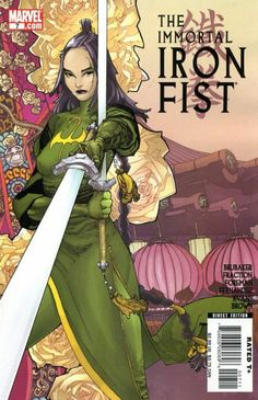 Immortal Iron Fist # 7 by Travel Foreman