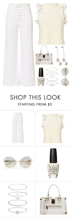 """""""super chic"""" by im-karla-with-a-k ❤ liked on Polyvore featuring A.L.C., 3.1 Phillip Lim, OPI, Accessorize, Louis Vuitton and Pink Box"""