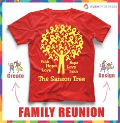Design Your Own T Shirt In Our Fully Loaded Online Design Studio. Find This  Pin And More On Family Reunion Ideas ...