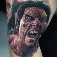 12 best dusk to dawn tattoos images on pinterest horror tattoos dusk till dawn paul acker vampire tattoo dusk till dawn art festival maxwellsz