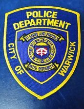 CITY OF WARWICK, RHODE ISLAND POLICE SHOULDER PATCH