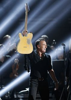Bruce Springsteen and the E Street Band in summer concert