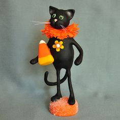 A Piece of Lisa: Candy Corn Cat by Lisa J. Ammerman