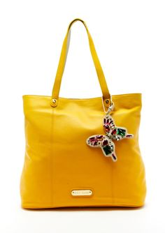 Betsey Johnson tote << This would be cute in many colors and different attachments. I love big bags because I always carry a lot of stuff w/me.