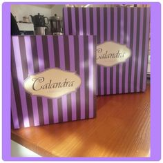 Calandra's cakebox..♥ purple ♥