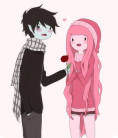 Marshall Lee The Vampire King & Princess Bubblegum
