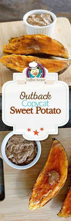 You can recreate the Outback Steakhouse Baked Sweet Potato at home. Copykat Recipes, Gourmet Recipes, Cooking Recipes, Cat Recipes, Outback Steakhouse Recipes, Sweet Potato Recipes, Restaurant Recipes, Easy Desserts, Food To Make