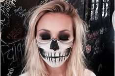 10 Skeleton Costumes Where It Is All About The Makeup!