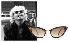 Marilyn Monroe lunettes de soleil Tom Ford http://www.vogue.fr/mode/shopping/diaporama/lunettes-de-star-shopping-inspiration-printemps-ete-2014/19072/image/1007134#!marilyn-monroe-lunettes-de-soleil-tom-ford