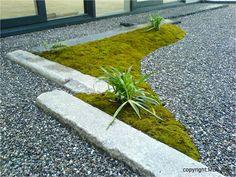 enclosed zen garden at Storz Medical AG / MLS,Inc. Mitani Landscape Studio