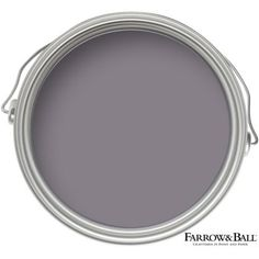 Find Farrow & Ball Charlottes Locks - Exterior Eggshell Paint - at Homebase. Visit your local store for the widest range of paint & decorating products. Farrow Ball, Farrow And Ball Paint, Crown Paint Colours, Room Paint Colors, Paint Colors For Living Room, Mauve Living Room, Farrow And Ball Living Room, Plum Walls, Gray