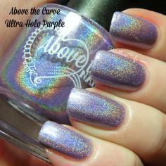 Above the Curve: Ultra Holos - Swatches and Review | Pointless Cafe