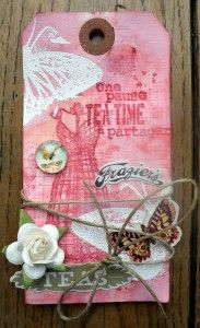 tag scrapbooking stamps and ink
