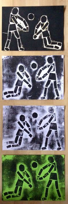 Great idea for proportion. Collagraph Printmaking, 7th Grade Art, Jr Art, Ecole Art, School Art Projects, Middle School Art, Art Lessons Elementary, Art Lesson Plans, Art Classroom