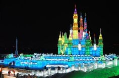 Harbin ice and snow sculpture festival China