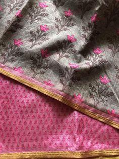 Printed art silk saree Raw Silk Saree, Silk Sarees, Saree Trends, Indian Outfits, Art Prints, Passion, Printed, Collection, Art Impressions