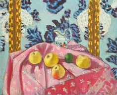 Henri Matisse  Still Life with Apples on a Pink Tablecloth  1924