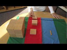 "Bluffview Montessori School: Golden Beads Dynamic Addition. Youtube.com: ""BluffMontessori"""
