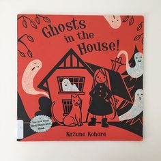 Ghosts in the House #readthelibrary #spookystories #read #childrensbooks #kidlit #halloweenstories #ghostsinthehouse