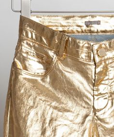 pair these gold bottoms with the Work It bootie and you'll do just that Metallic Makeup, Metallic Fashion, Metallic Luster, Metallic Colors, Gold Mine, Billionaire Lifestyle, Gold Rush, Greed, Color Themes