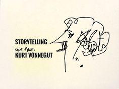 Storytelling tips (and as ever, charming illustrations) c/o Kurt Vonnegut