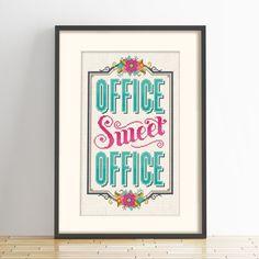 Office Sweet Office - Cross Stitch Pattern (Digital Format - PDF) by Stitchrovia on Etsy