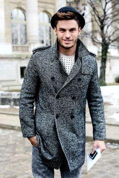 Idée et inspiration Look street style pour homme tendance 2017   Image   Description   Baptiste Giabiconi attends Paris Haute Couture Week S/S 2013
