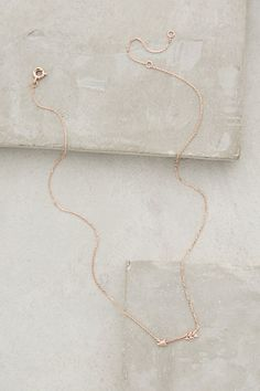 Anthropologie ARCHER'S ARROW NECKLACE #anthrofave