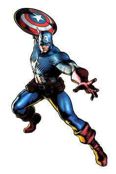 Image result for captain america marvel vs capcom