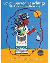 Nonfiction: The Seven Sacred Teachings is a message of traditional values and hope for the future. The Teachings are universal to most First Nation peoples. These Teachings are aboriginal communities from coast to coast. Aboriginal Education, Indigenous Education, Aboriginal Culture, Indigenous Art, Grandfather Tattoo, Importance Of Reading, Medicine Wheel, Native American History, American Symbols
