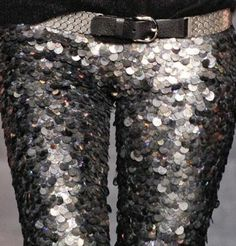sequinned...