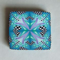 PCAGOE November Challenge Kaleidoscope Cane - a WINNER! by Jae Jewelry & The Pleasant Pheasant, via Flickr