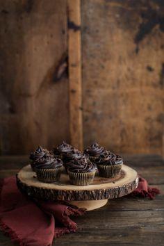 chocolate beet cupcakes / naturally ella